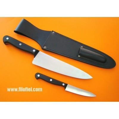 Leather Kitchen knife Sheath
