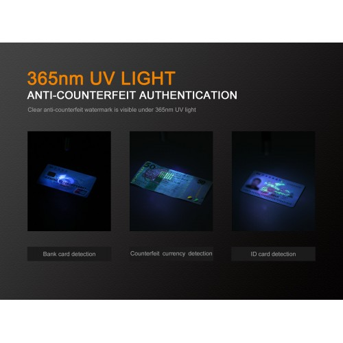 Fenix Linterna LD02 V2.0 70 Lumens