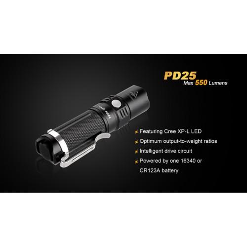 Fenix Flashlight PD25 550 lumens