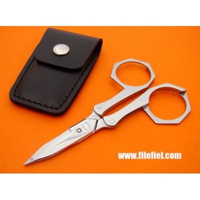 Nogent Folding Scissors 166Aicuir
