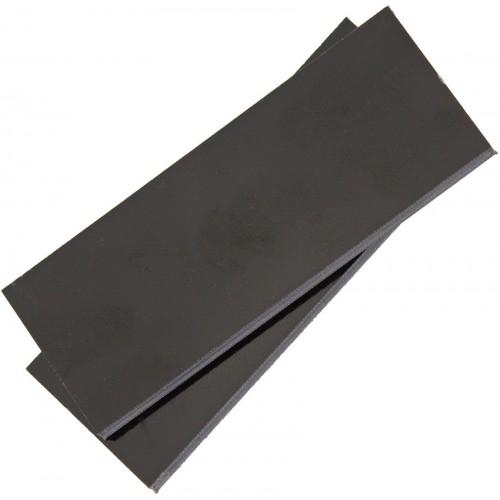 Scales G-10 Black rr1478 2 piezes