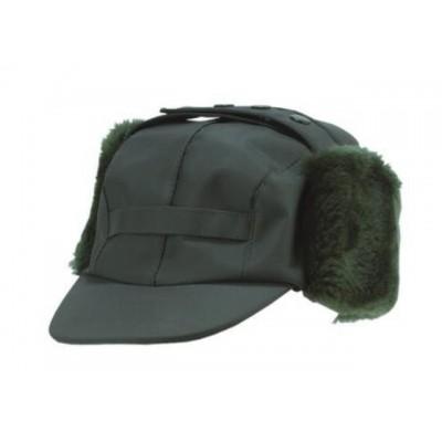 Cap visor with earflaps