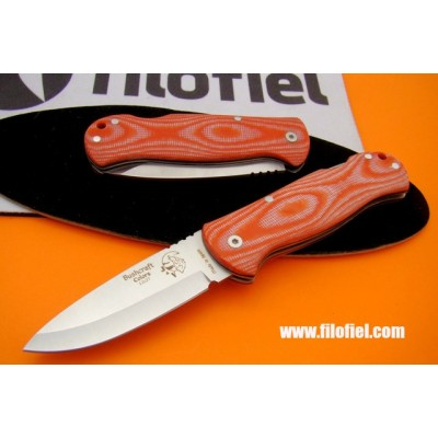 J&V Cda Bushcraft Folding Micarta Orange