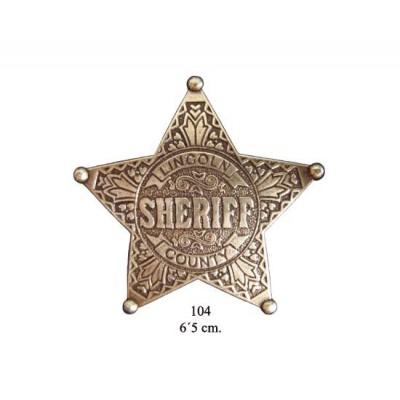 Denix 104 Placa Sheriff
