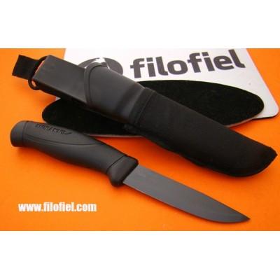 Morakniv Companion black blade  + molle 12351