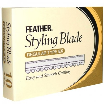 Feather Styling Blades 10 pzs.