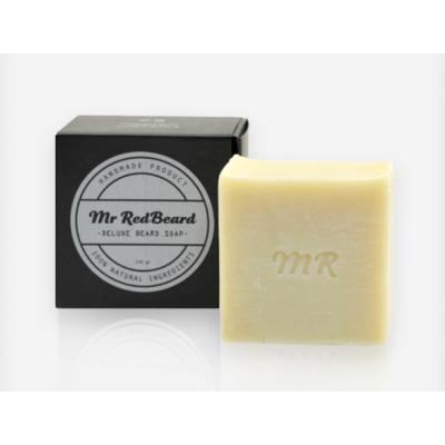 Mr. Red Beard Deluxe Beard Soap 150 grs.