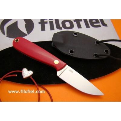 Enzo Necker 70 Red Micarta 9818 kydex