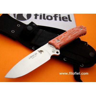 J&V Cda Chacal Micarta Orange 1336-M2-COR