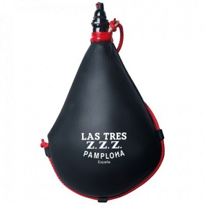 Las Tres Z.Z.Z. Bota Wine Recta Black 1 1/2 L