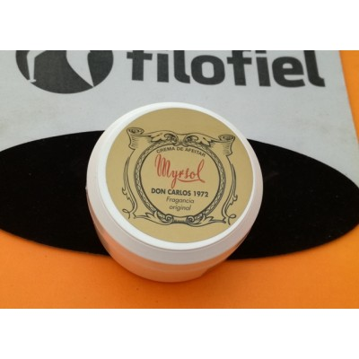 Myrsol Crema Afeitar Don Carlos 150 gr.