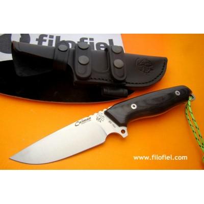 J&V Cda Caiman Black Micarta 1372-TRF1