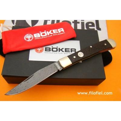 Boker Trapper Classic Damascus 112545dam