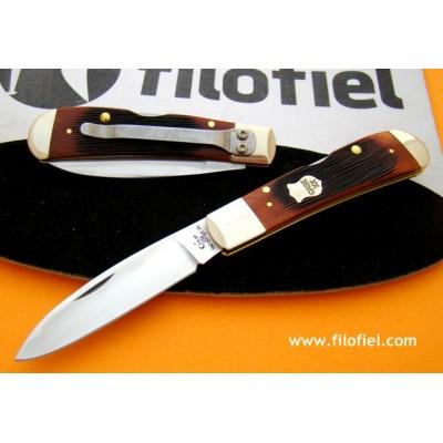 Case Tribal Lock Jigged Bone + Clip ca22875