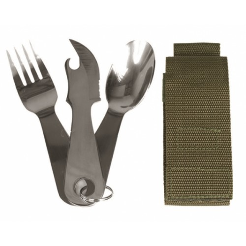 Mil Tec Camping spoon and Fork 14624000