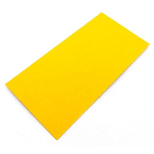 Fibra Vulcanizada 250x125x0,8 mm. Yellow 8075