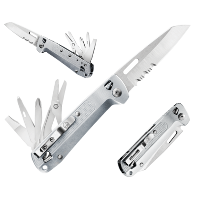 Leatherman Free K4x Silver 832662