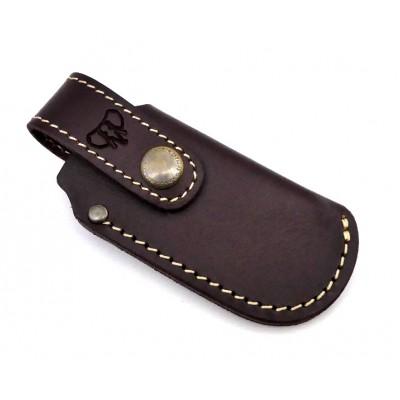 Cudeman 604c Leather Sheath Brown