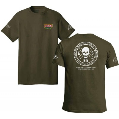 Esee T-Shirt Size XXL Green estsgr2x