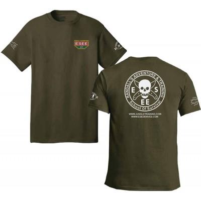 Esee T-Shirt Size M Green estsgrmed