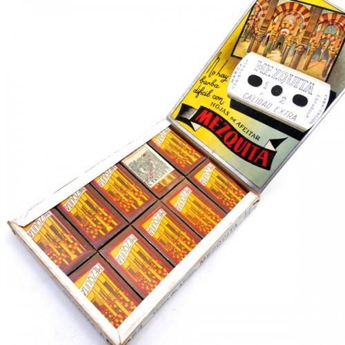 Cuchillas Mezquita Caja 100 unidades