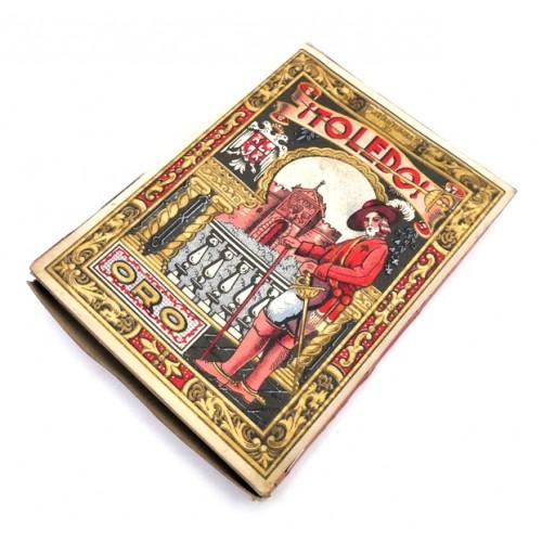 Cuchillas Toledo Oro Caja 100 unidades