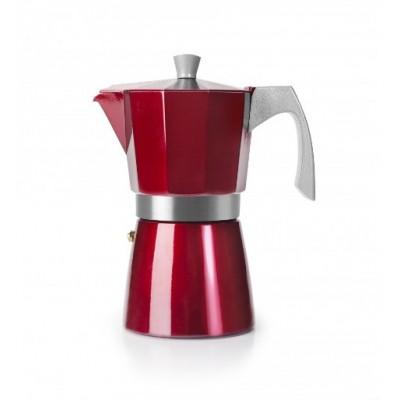 Ibili Cafetera EVVA 2 tazas roja 623202
