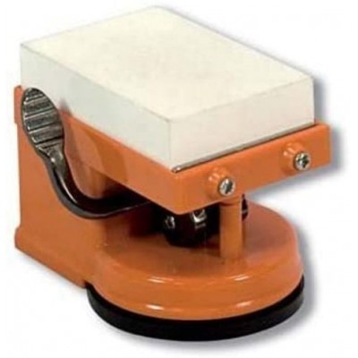 Flores Cortes Suction cup sharpener with stone 23498