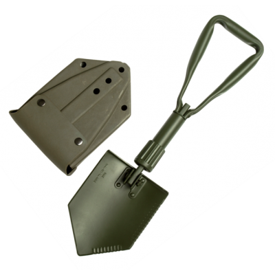 German Trifold Shovel With Pounch 15520100