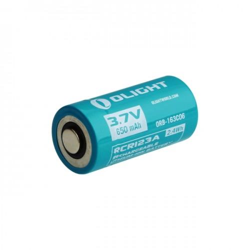Olight Bateria Recargable rcr123a 650mHa ol0002