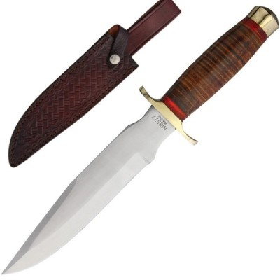 Marbles Stacked Leather Bowie mr577