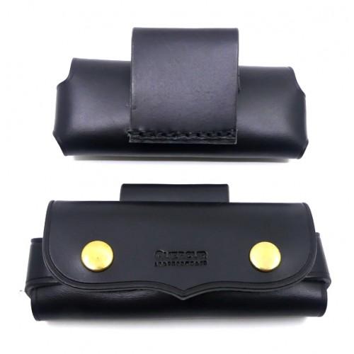 Quercur Leather Sheath Horizontal Black