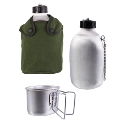 Canteen Aluminium + Pot 14510201