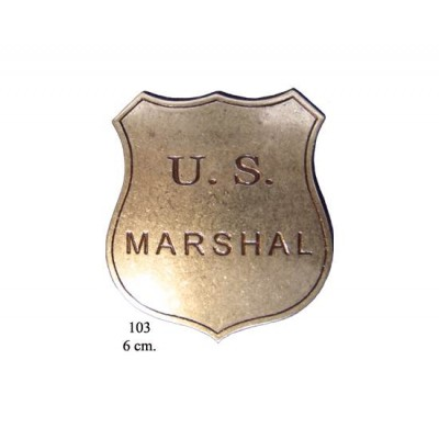 Denix 103 Placa US Marshal