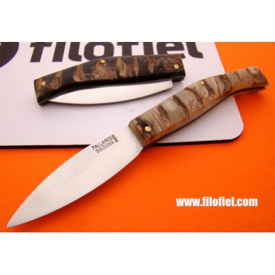 Pallares Comun Lux Ram Horn nº 0 stainless