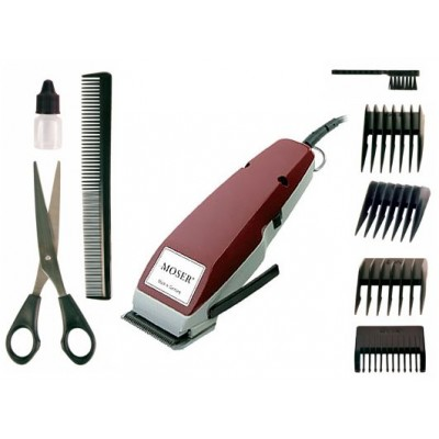 Moser Haircut 1400 + Accesories