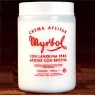 Myrsol Shaving Cream 1000 grs.