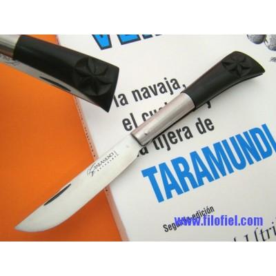 Taramundi Punta Vuelta 7,5 carved ebony