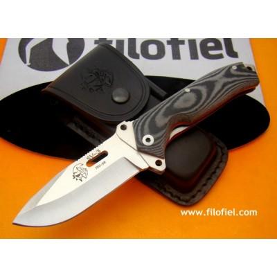 J&V Cda SV3 black micarta 1222-M1